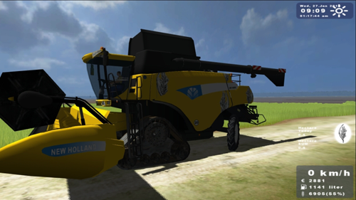 New Holland CR9090 (Special Rice)